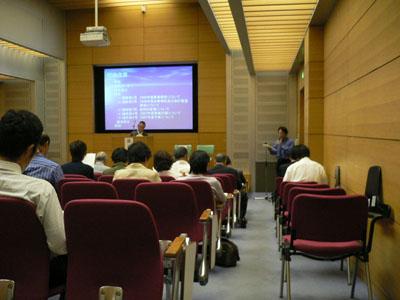 5月26日に開催された総会の様子(川越市立博物館)